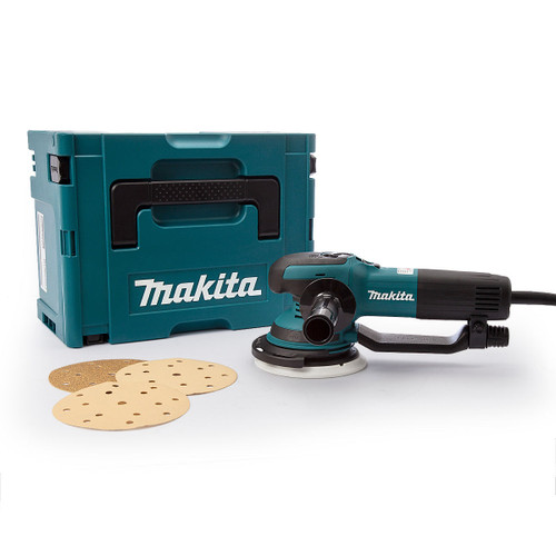 Makita BO6050J Random Orbit Sander 150mm 110V - 7