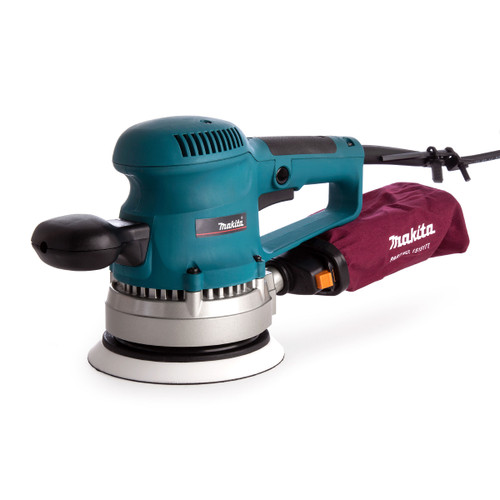 Makita BO6030 Random Orbit Sander 6 Inch / 152mm with 53 Accessories 240V - 5