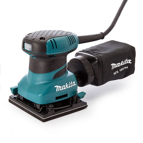 Makita BO4556 Palm Sander Plus Clamp 240V - 5