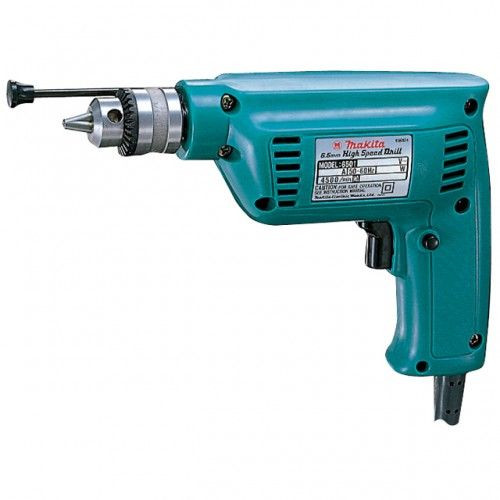 """Buy Makita 6501 1/4""""/6.5mm High Speed Rotary Drill with Depth Stop and Chuck Key 240V at Toolstop"""