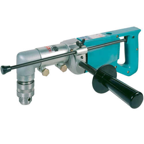 Makita 6300LR 110V 13mm Rotary Drill with Right Angle Attachment - 4