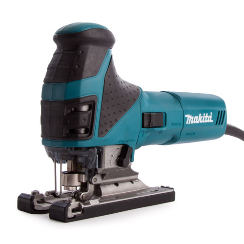 Makita 4351FCT Jigsaw Orbital Action with Tool-less Blade Fixing and Job Light 110V  - 5