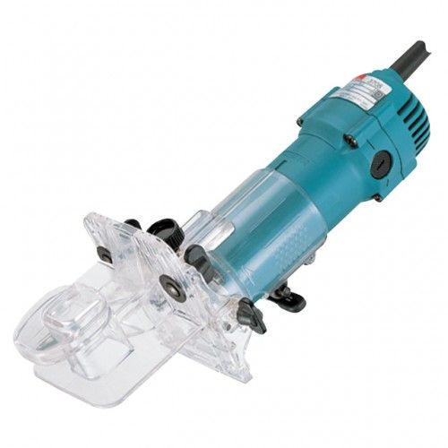 Buy Makita 3708F 1/4in Trimmer with Light and Tilting Base 240V at Toolstop