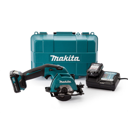 Makita HS301DWAE 10.8V CXT Cordless Circular Saw 85mm (2 x 2.0Ah Batteries)