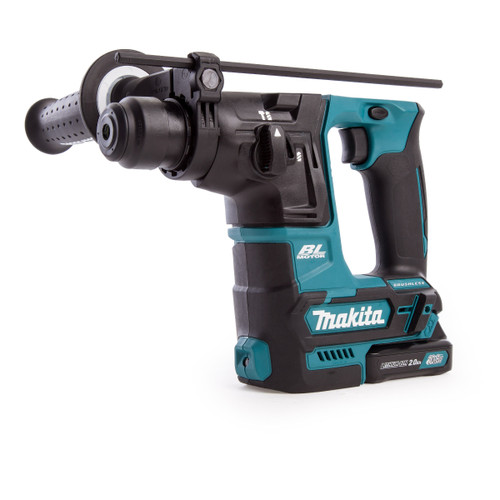 Makita HR166DSAE1 10.8V CXT SDS Plus Rotary Hammer (2 x 2.0Ah Batteries) with 65 Accessories - 5