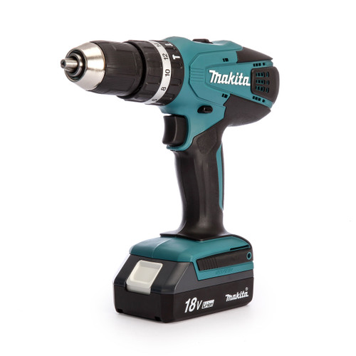 Makita HP457DWE 18V Cordless Combi Drill (2 x 1.1Ah Batteries) - 6
