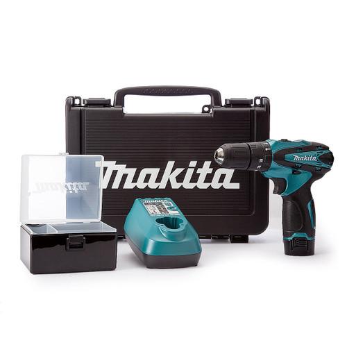 Makita HP330DSP1C 10.8V Metallic Blue Cordless Combi Drill (1 x 1.3Ah Battery) - 7