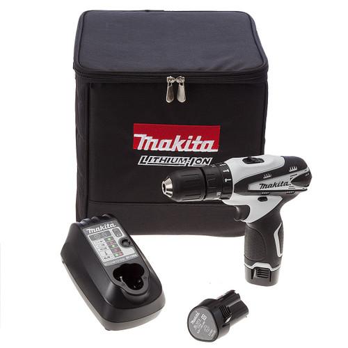 Makita HP330D 10.8V Cordless Combi Drill (2 x 1.3Ah Batteries) - 3