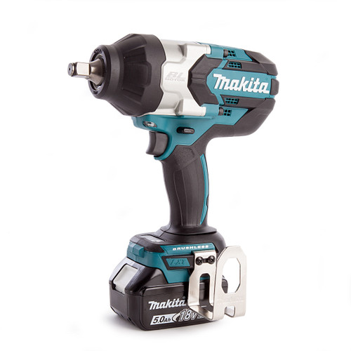 Makita DTW1002RTJ 18V LXT Brushless Impact Wrench 1/2in Square Drive (2 x 5.0Ah Batteries) - 4