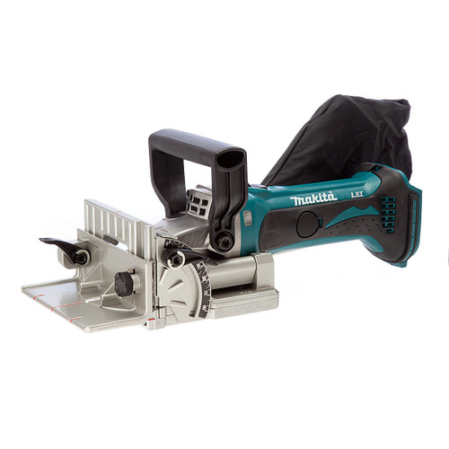Buy Makita DPJ180Z 18V Cordless Biscuit Jointer (Body Only) at Toolstop