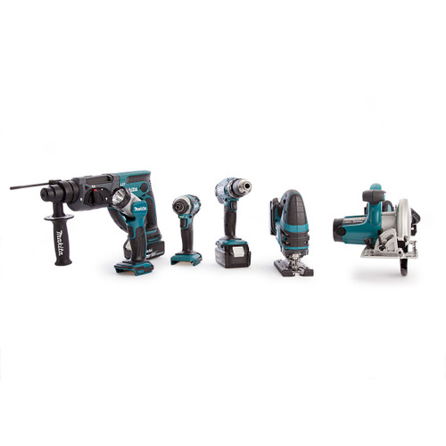 Makita DLX6068 18V li-ion 6 Piece Cordless Kit with Twin Charger (3 x 3.0Ah Batteries) - 8