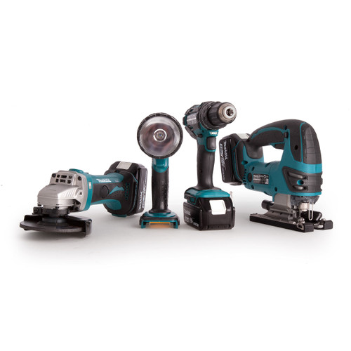 Makita DLX4051PM1 18V Cordless li-ion 4 Piece Kit (3 x 4.0Ah Batteries) - 6