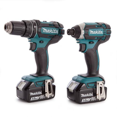 Makita DLX2131JX 18V Twin Pack - DHP482 Combi Drill + DTD152 Impact Driver (2 x 3.0Ah Batteries) - 5