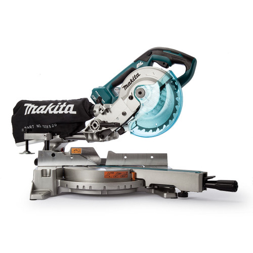 Makita DLS714Z 36V LXT Slide Compound Mitre Saw 190mm (Body Only) Accepts 2 x 18V Batteries - 6