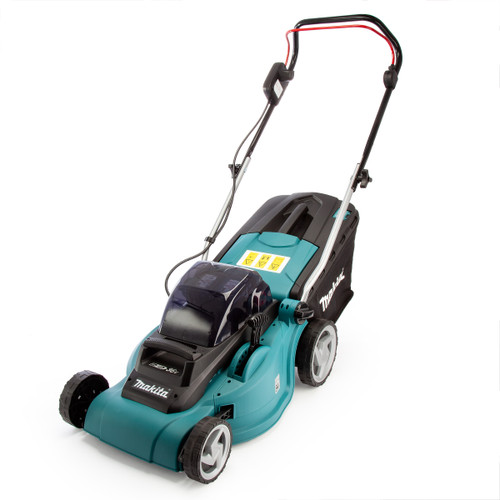 Makita DLM380PF4 36V Cordless li-ion Lawnmower (4 x 3Ah 18V Batteries) - accepts 2 x 18V Batteries - 1