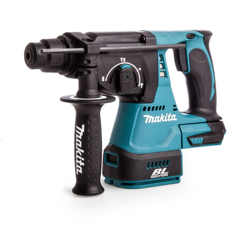 Makita DHR242Z 18V Brushless 3-Mode SDS Plus Rotary Hammer Drill 24mm (Body Only) - 5