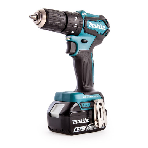 Makita DHP483RMJ 18V Brushless Combi Drill (2 x 4.0Ah Batteries) - 4