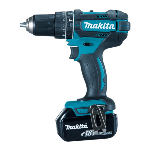 Buy Makita DHP482RMJ 18V LXT Cordless Combi Drill (2 x 4.0Ah Batteries) at Toolstop