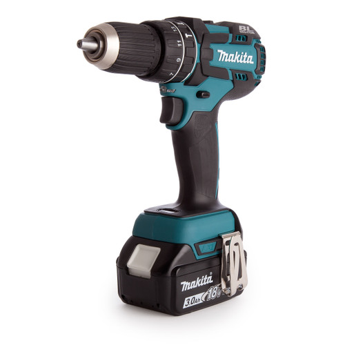 Makita DHP480RF1J 18V Brushless Combi Drill (1 x 3.0Ah Battery) - 4