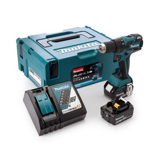 Makita DHP459RMJ 18V Brushless 2-Speed Combi Drill 13mm (2 x 4.0Ah Batteries) - 4