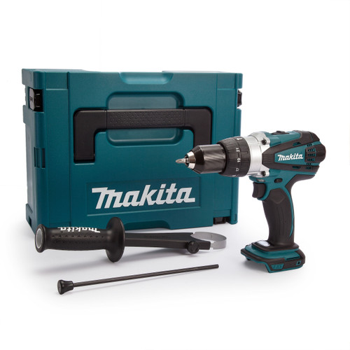 Buy Makita DHP458ZJ 18V Compact 2-Speed Combi Drill (Body Only) at Toolstop