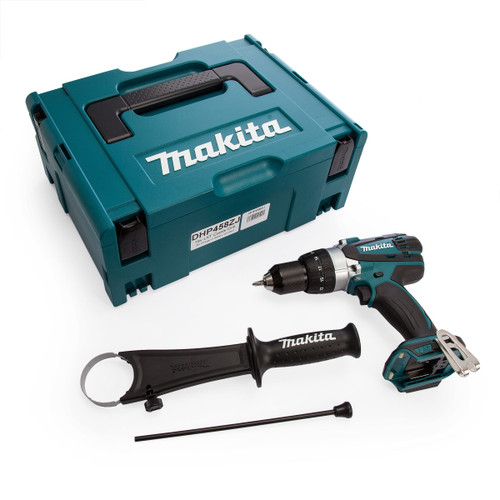 Makita DHP458ZJ 18V Compact 2-Speed Combi Drill (Body Only) - 3