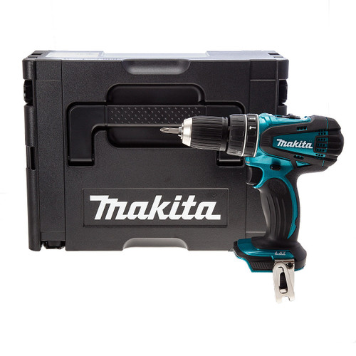 Makita DHP456SP 18V Metallic Blue Cordless 2-Speed Combi Drill (Body Only) - 3