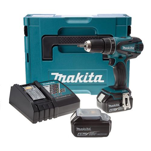 Makita DHP456RMJ 18V Cordless 2-Speed Combi Drill (2 x 4.0Ah Batteries) - 3