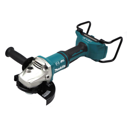 Buy Makita DGA700PT2 36V Cordless Angle Grinder 180mm (2 x 5.0Ah Batteries) Accepts 2 x 18V Batteries at Toolstop