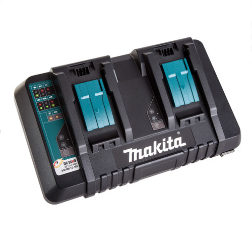 Buy Makita DC18RD Dual Port Charger 7.2 - 18V for GBP50 at Toolstop