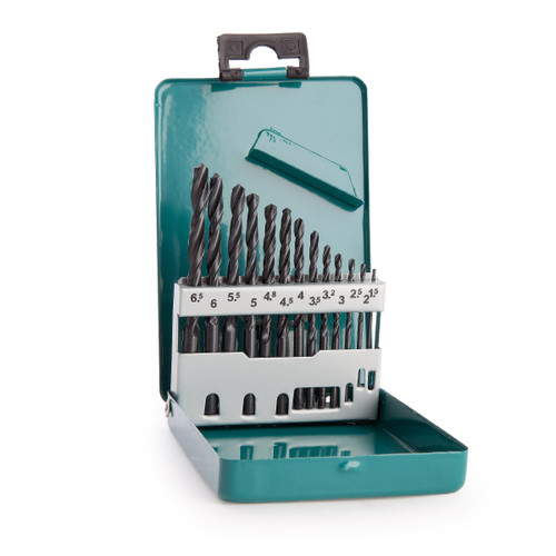 Makita D-54075 HSS Drill Bit Set (13 Piece) - 2