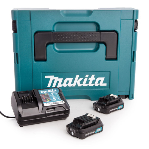 Makita 197646-2 CXT 10.8V Battery & Charger Set in Makpac Case (2 x 2.0Ah Batteries) - 4