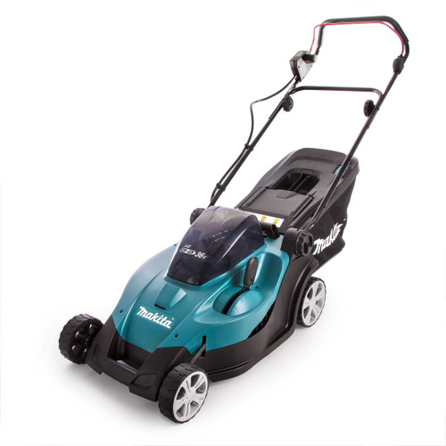 Makita DLM431 Twin 18V (36V) Lawnmower with Twin Charger (4 x 3.0Ah Batteries) - 7