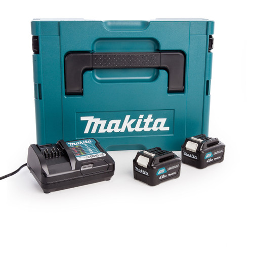 Makita CXT 10.8V Battery & Charger Set in Makpac Case (2 x 4.0Ah Batteries) - 2