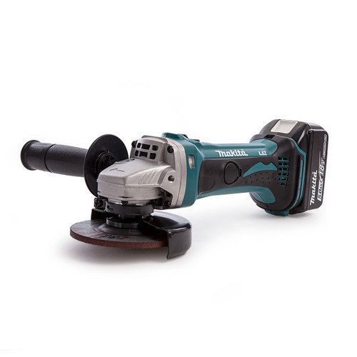 Makita DGA452 18V Cordless Grinder (1 x 5.0Ah Battery) - 5