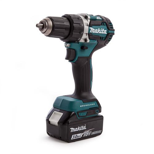 Makita DDF484 18V Cordless Drill Driver (1 x 3.0Ah Battery) - 4