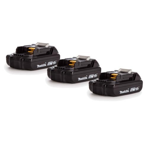 Makita 18V BL1820 Battery Triple Pack 2.0Ah - 4
