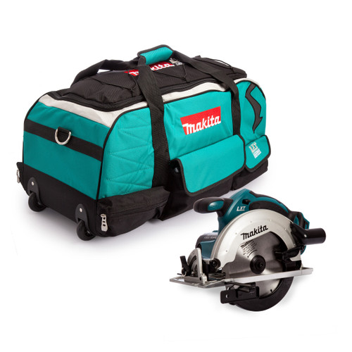 Makita DSS611Z 18V LXT Circular Saw (Body Only) + 831279-0 Duffel Bag - 4