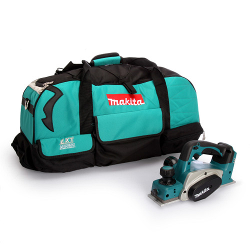 Makita DKP180Z Planer 82mm (Body Only) + 831279-0 Duffel Toolbag - 4