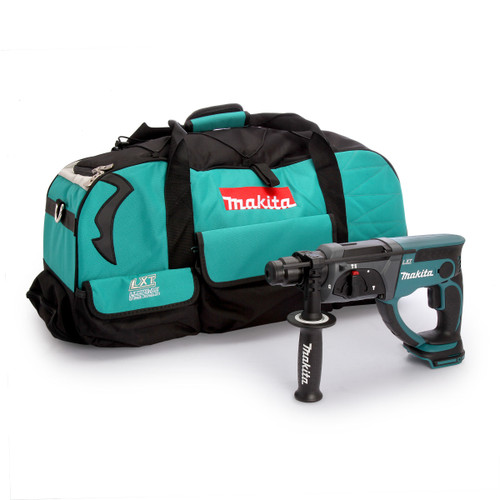 Makita DHR202Z SDS Plus Rotary Hammer Drill (Body Only) with 831279-0 Duffel Bag - 3