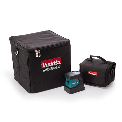 Makita SK102Z Crossline Self-levelling and Aligning Laser in Black Cube Bag - 4