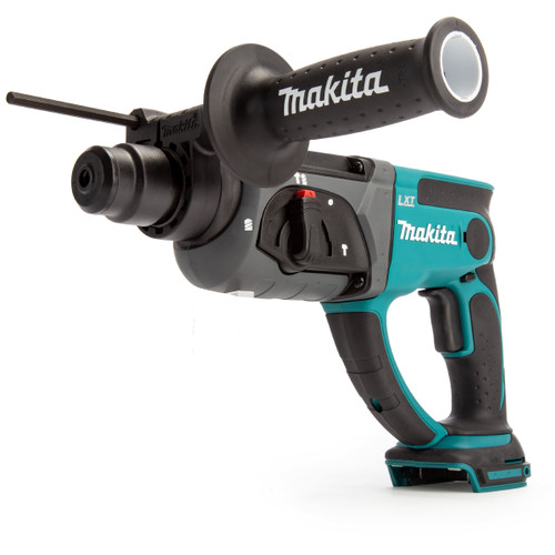 Makita DHR202Z 18V SDS Plus Rotary Hammer Drill (Body Only) with D-21200 17 Piece Drill & Chisel Set - 5