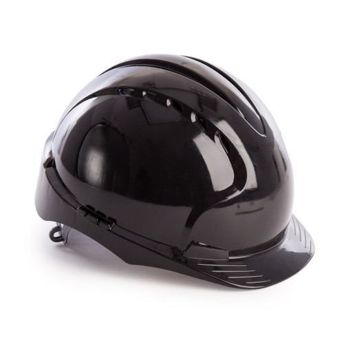 JSP AJF030 EVO2 Safety Helmet with Slip Ratchet - Vented - Black - 1