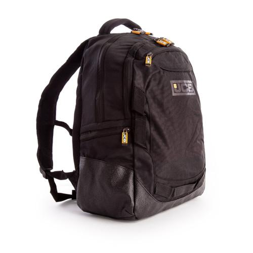 JCB 001 Nylon Weave Multi-Pocket Backpack in Black 24 Litre - 4
