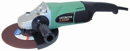 Buy Hitachi G23UB2 230mm Grinder 2500W soft start 110V at Toolstop