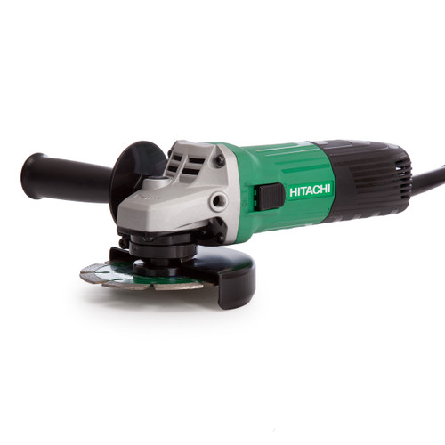 Hitachi G 12STX Angle Grinder 115mm 600W with Diamond Blade 110V - 4