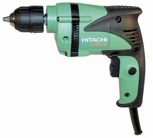 Buy Hitachi D10VC2 10mm Rotary Drill 460W 110V at Toolstop