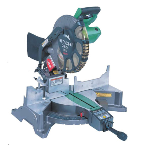 Buy Hitachi C12LCH 305mm Mitre Saw with Digital Display & Laser Marker 240V at Toolstop
