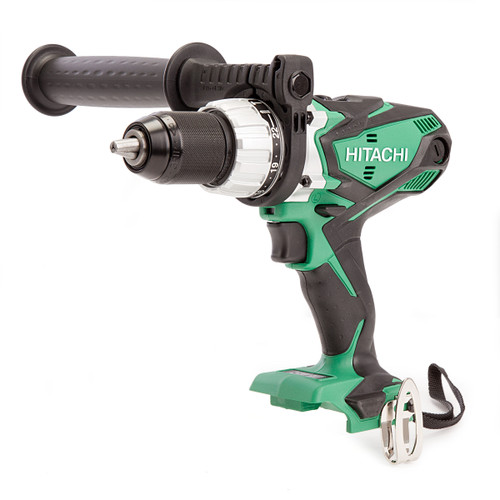 Hitachi DV18DSDL 18V Cordless Combi Drill (Body Only) with Kitbox  - 4