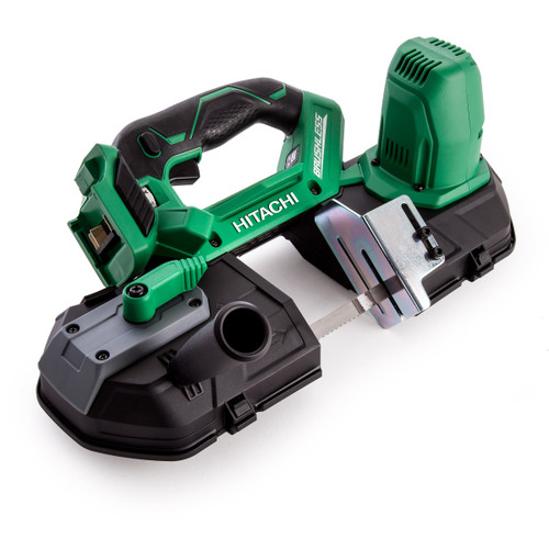 Hitachi CB18DBL/J4 18V Cordless Band Saw Brushless 83mm / 3. 1/4 Inch (Body Only) - 4
